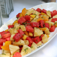 Mixed Fruit Salad for the Kids Party